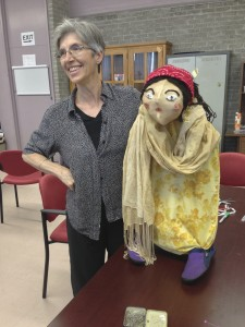 Madhu's puppet finished by Marguerite